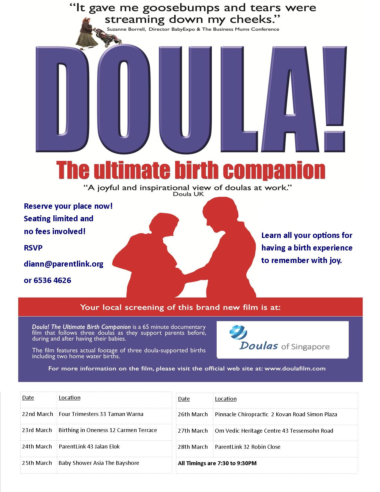 Documentary Screening on Doula