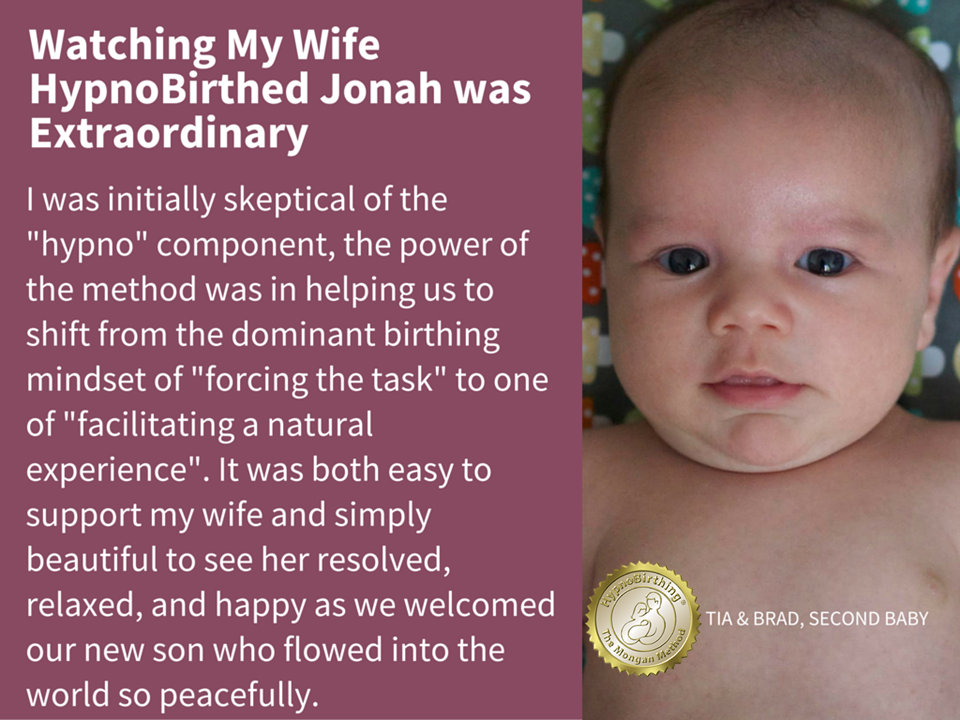 I was skeptical of the Hypno component but witnessed my wife birth our son was extra ordinary.
