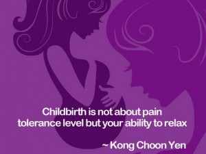 It's not about your pain threshold level but most doctors thought, it's the labouring woman's ability to relax