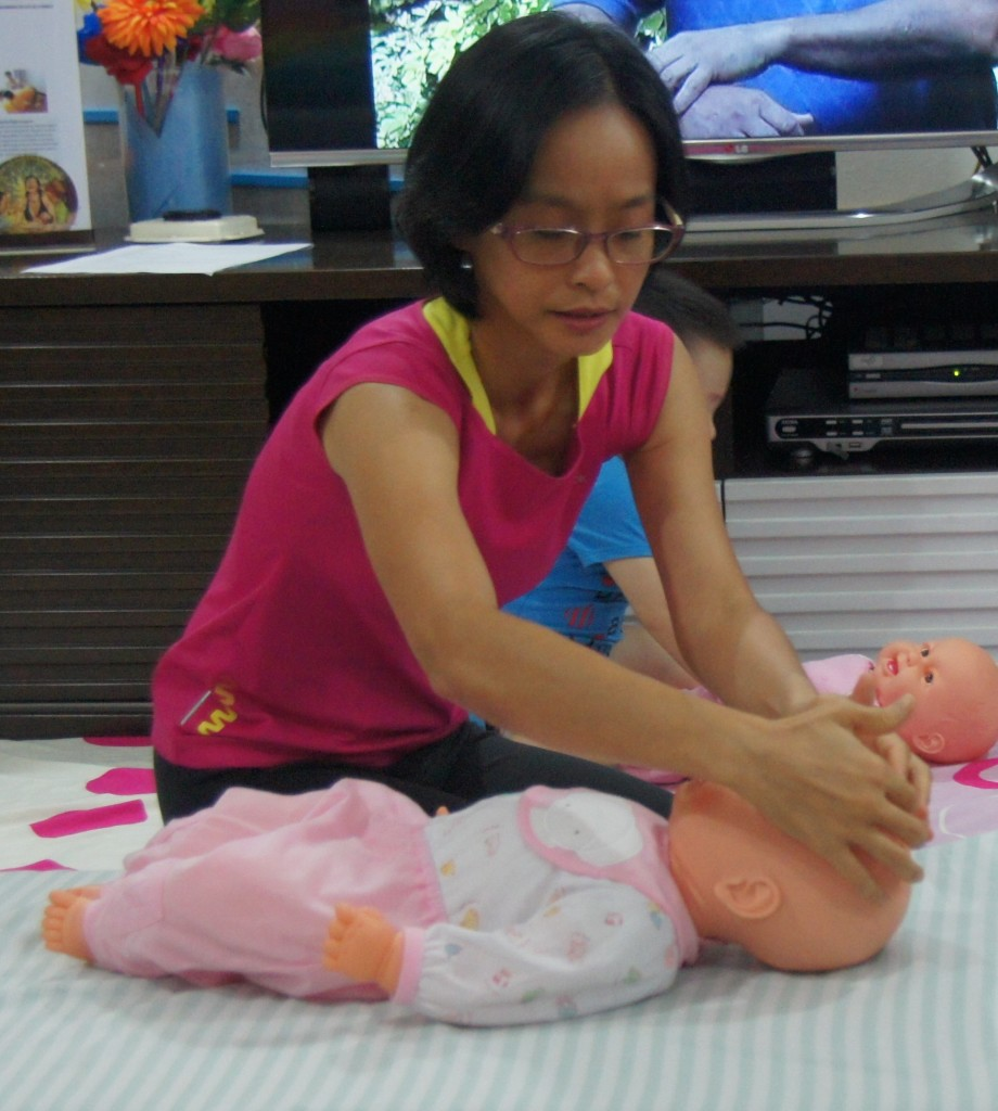 Butterfly Touch Massage for Infant