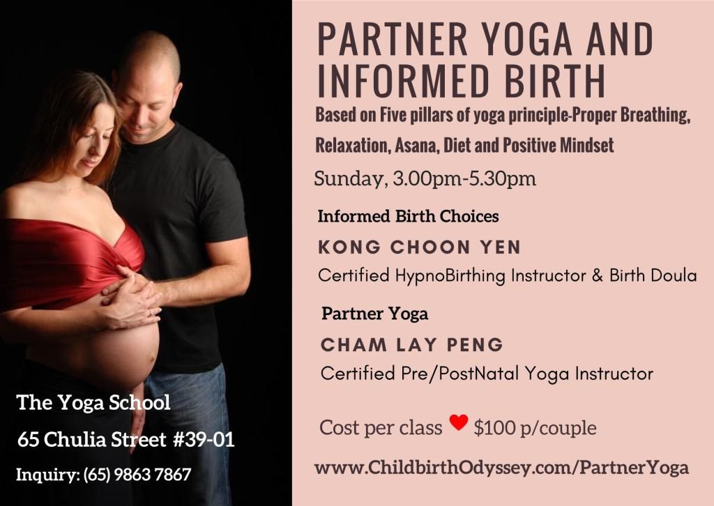 Partner Yoga and Informed Birth