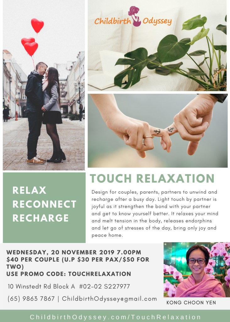 Relax Reconnect and Recharge Session
